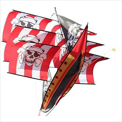 Supersize Pirate Ship Kite - Gifteee. Find cool & unique gifts for men, women and kids