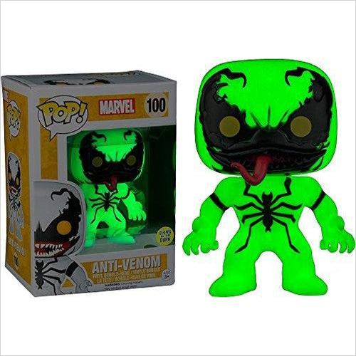 Funko POP! Marvel Anti-Venom Glow in the Dark Exclusive #100 GITD - Gifteee. Find cool & unique gifts for men, women and kids