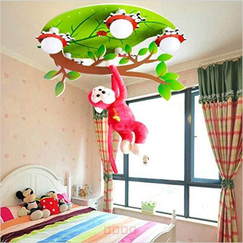Monkey Ceiling Lamp - Gifteee. Find cool & unique gifts for men, women and kids