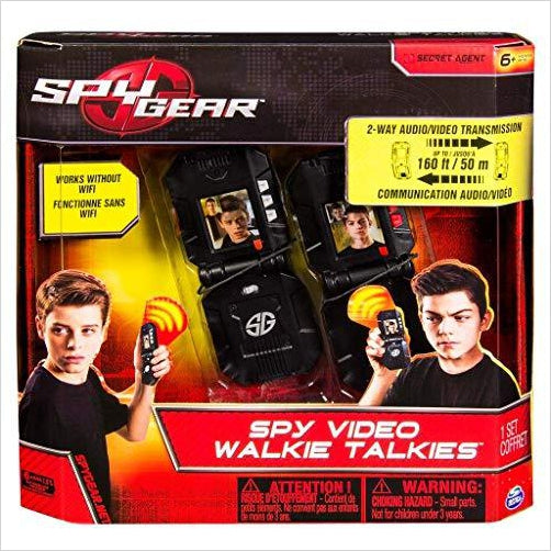 Video WalkieTalkies - Find unique gifts for boys age 5-11 year old, gifts for your son, gifts for your kids birthday or Christmas, gifts for you children classmates and friends at Gifteee Unique Gifts, Cool gifts for boys