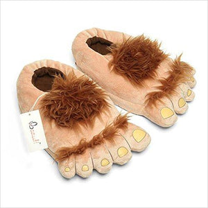 Furry Monster Slippers-Toy - www.Gifteee.com - Cool Gifts \ Unique Gifts - The Best Gifts for Men, Women and Kids of All Ages