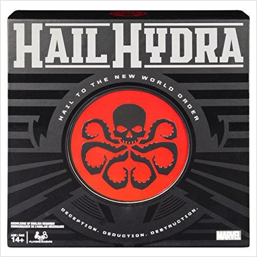 Hail Hydra, MARVEL Hero Board Game-Toy - www.Gifteee.com - Cool Gifts \ Unique Gifts - The Best Gifts for Men, Women and Kids of All Ages
