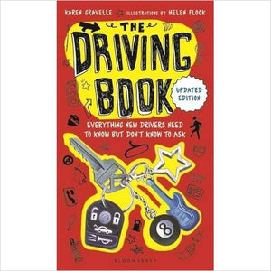 The Driving Book: Everything New Drivers Need to Know but Don't Know to Ask-book - www.Gifteee.com - Cool Gifts \ Unique Gifts - The Best Gifts for Men, Women and Kids of All Ages