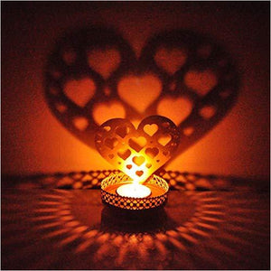 Heart Light Candle Holder-Home - www.Gifteee.com - Cool Gifts \ Unique Gifts - The Best Gifts for Men, Women and Kids of All Ages