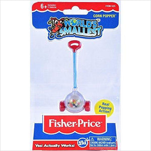 Worlds Smallest Fisher Price Corn Popper-Toy - www.Gifteee.com - Cool Gifts \ Unique Gifts - The Best Gifts for Men, Women and Kids of All Ages