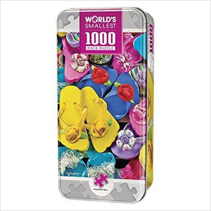 World's Smallest 1000 Piece Jigsaw Puzzle-Toy - www.Gifteee.com - Cool Gifts \ Unique Gifts - The Best Gifts for Men, Women and Kids of All Ages