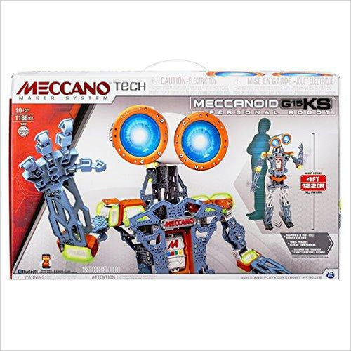 Meccano MeccaNoid G15 KS - Find the newest innovations, cool gadgets to use at home, at the office or when traveling. amazing tech gadgets and cool geek gadgets at Gifteee Cool gifts, Unique Tech Gadgets and innovations