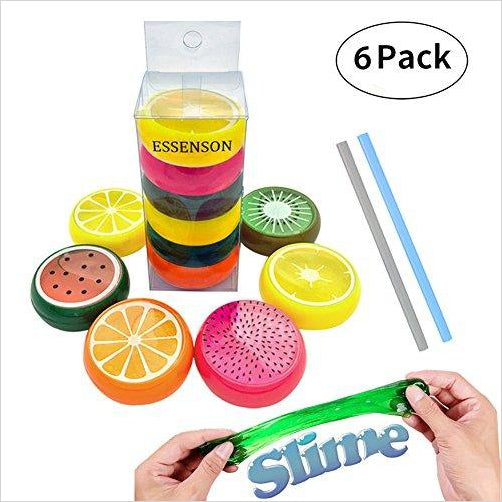 Soft Rubber Fruit Slime for Kids-Toy - www.Gifteee.com - Cool Gifts \ Unique Gifts - The Best Gifts for Men, Women and Kids of All Ages