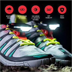Shoe Lights For Running At Night-Sports - www.Gifteee.com - Cool Gifts \ Unique Gifts - The Best Gifts for Men, Women and Kids of All Ages