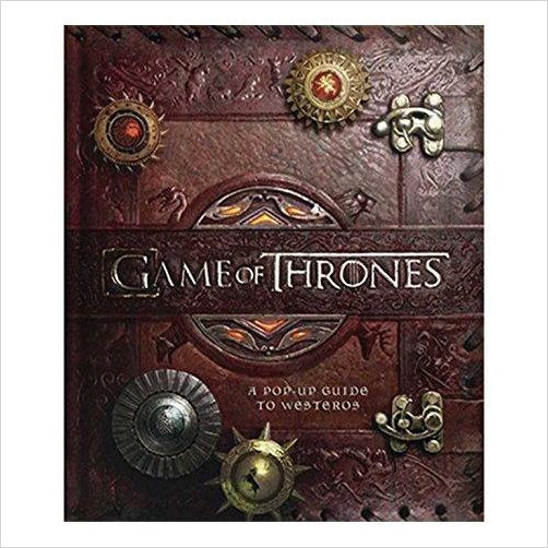 Game of Thrones: A Pop-Up Guide to Westeros - Find special books, flip books, pop up books, mysterious books, unique map books, unusual creative books at Gifteee unique books for kids and adults