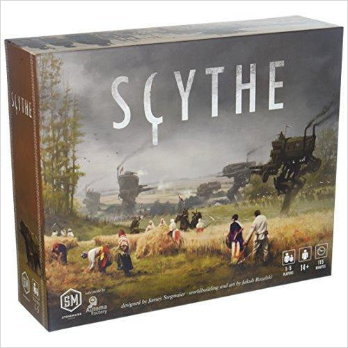 Scythe Board Game-Toy - www.Gifteee.com - Cool Gifts \ Unique Gifts - The Best Gifts for Men, Women and Kids of All Ages