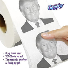 Load image into Gallery viewer, Donald Trump Toilet Paper Roll