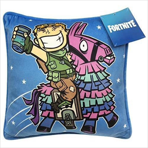 Fortnite Decorative Pillow Cover - Gifteee. Find cool & unique gifts for men, women and kids