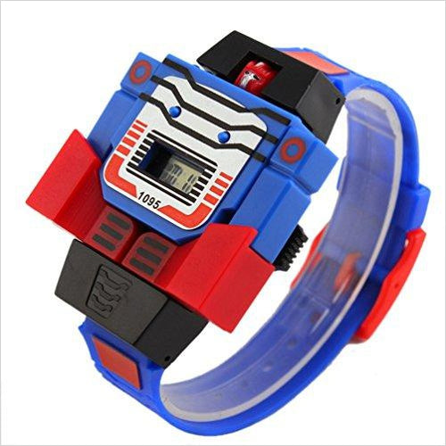 Transformers Wristwatch - Find unique gifts for boys age 5-11 year old, gifts for your son, gifts for your kids birthday or Christmas, gifts for you children classmates and friends at Gifteee Unique Gifts, Cool gifts for boys