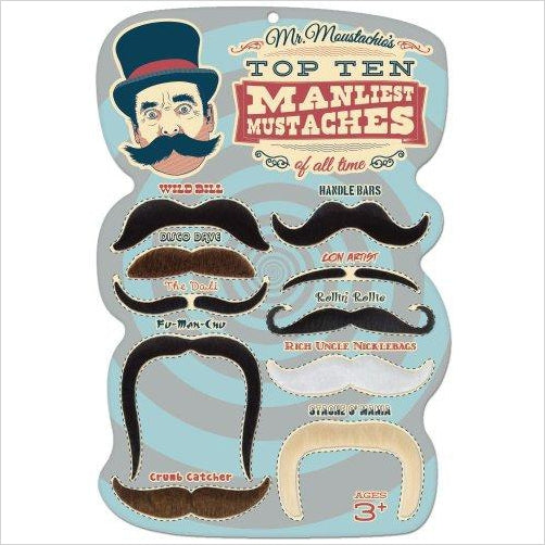Top 10 Manliest Mustaches - Find funny gift ideas, the best gag gifts, gifts for pranksters that will make everybody laugh out loud at Gifteee Cool gifts, Funny gag Gifts for adults and kids