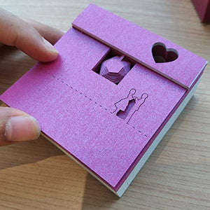 Japan's Creative Post Notes Paper Art Crafts