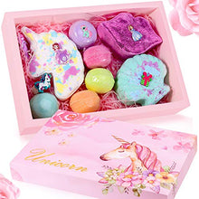 Load image into Gallery viewer, Unicorn Bath Bomb Gift Set