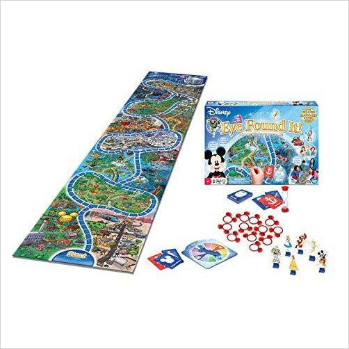 World of Disney Eye Found It Board Game - Find special gifts for girls and tweens age 5-11 year old, gifts for your daughter, gifts for your kids birthday or Christmas, gifts for a young princess, gifts for you children classmates and friends at Gifteee Unique Gifts, Cool gifts for girls