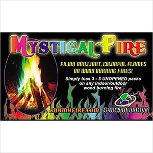Mystical Fire Flame Colorant-Lawn & Patio - www.Gifteee.com - Cool Gifts \ Unique Gifts - The Best Gifts for Men, Women and Kids of All Ages
