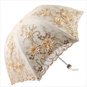 Luxury Lace UV Umbrella-Luggage - www.Gifteee.com - Cool Gifts \ Unique Gifts - The Best Gifts for Men, Women and Kids of All Ages