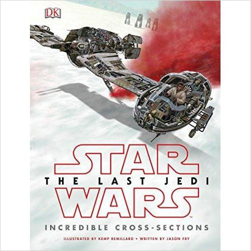 Star Wars The Last Jedi Incredible Cross-Sections-Book - www.Gifteee.com - Cool Gifts \ Unique Gifts - The Best Gifts for Men, Women and Kids of All Ages