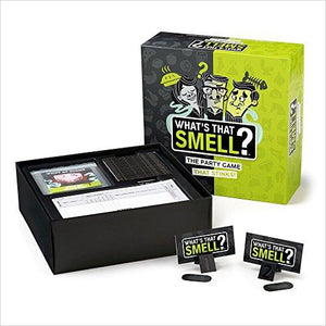 What's That Smell? The Party Game That Stinks - Scent Guessing Game-Toy - www.Gifteee.com - Cool Gifts \ Unique Gifts - The Best Gifts for Men, Women and Kids of All Ages