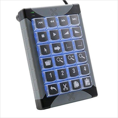 USB Programmable Keypad-Personal Computer - www.Gifteee.com - Cool Gifts \ Unique Gifts - The Best Gifts for Men, Women and Kids of All Ages
