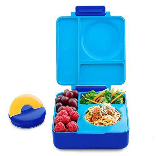 Leak-Proof 3-Compartment Bento Lunch Box For Kids-Kitchen - www.Gifteee.com - Cool Gifts \ Unique Gifts - The Best Gifts for Men, Women and Kids of All Ages