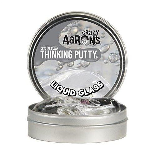 Crazy Aaron's Thinking Putty - Liquid Glass-Toy - www.Gifteee.com - Cool Gifts \ Unique Gifts - The Best Gifts for Men, Women and Kids of All Ages