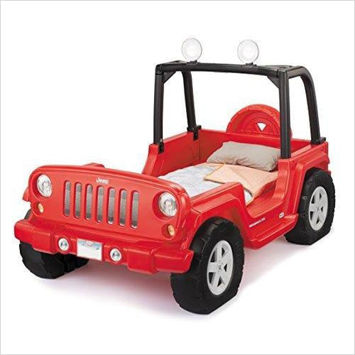Jeep Wrangler Toddler To Twin Bed-Toy - www.Gifteee.com - Cool Gifts \ Unique Gifts - The Best Gifts for Men, Women and Kids of All Ages