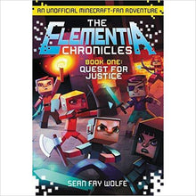 The Elementia Chronicles #1: Quest for Justice: An Unofficial Minecraft-Fan Adventure-book - www.Gifteee.com - Cool Gifts \ Unique Gifts - The Best Gifts for Men, Women and Kids of All Ages