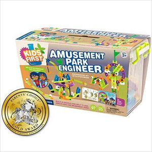 Kids First Amusement Park Engineer Kit-Toy - www.Gifteee.com - Cool Gifts \ Unique Gifts - The Best Gifts for Men, Women and Kids of All Ages