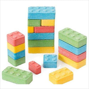 CANDY Lego Blocks (1 pound bag) - Find unique gifts that will get you kids eating well and eating healthy with unique foodie gifts for kids dinner and the kitchen at Gifteee Cool gifts, Unique Gifts that will make kids enjoy eating
