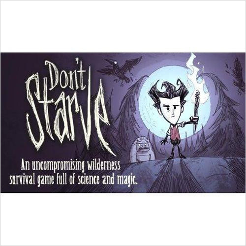 Don't Starve Video Game-Digital Video Games - www.Gifteee.com - Cool Gifts \ Unique Gifts - The Best Gifts for Men, Women and Kids of All Ages
