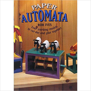 Paper Automata: Four Working Models to Cut Out & Glue Together - Gifteee. Find cool & unique gifts for men, women and kids
