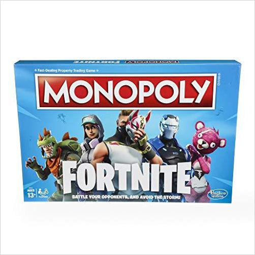 Monopoly: Fortnite Edition - Find Fortnite Battle Royale and Fortnite Chapter 2 Gifts for Fortnite Fans, and Epic games official gifts at Gifteee Unique Gifts, Cool gifts for kids and gamers
