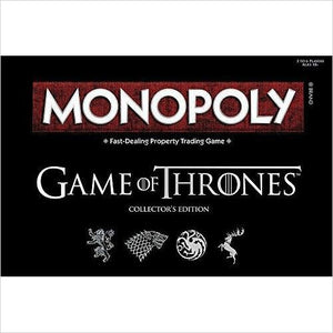 Monopoly: Game of Thrones Collector's Edition-Toy - www.Gifteee.com - Cool Gifts \ Unique Gifts - The Best Gifts for Men, Women and Kids of All Ages