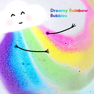 Rainbow Bath Bombs - Gifteee. Find cool & unique gifts for men, women and kids