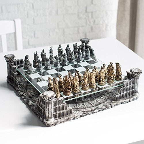 Unique Roman Gladiators Chess Set