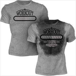 Sweat Activated Men's Gym Shirt | Workout Complete-Apparel - www.Gifteee.com - Cool Gifts \ Unique Gifts - The Best Gifts for Men, Women and Kids of All Ages