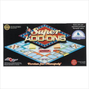 Monopoly Super Add-Ons-monopoly addons - www.Gifteee.com - Cool Gifts \ Unique Gifts - The Best Gifts for Men, Women and Kids of All Ages
