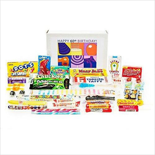 Nostalgic Candy from Childhood (60's) for a 60 Year Old Man or Woman - Gifteee. Find cool & unique gifts for men, women and kids