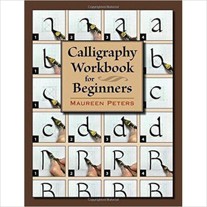 Calligraphy Workbook for Beginners-book - www.Gifteee.com - Cool Gifts \ Unique Gifts - The Best Gifts for Men, Women and Kids of All Ages