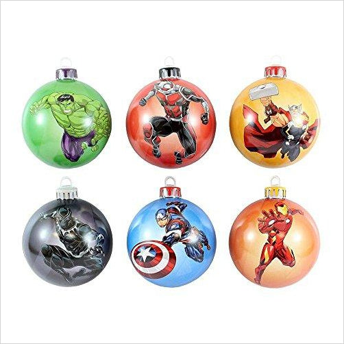 Marvel Avengers Christmas Tree Decorations - Gifteee. Find cool & unique gifts for men, women and kids