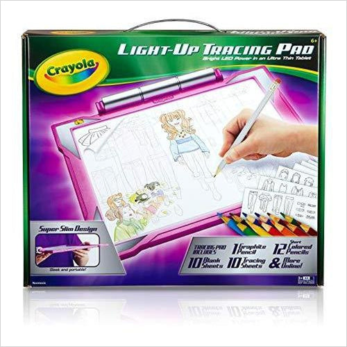 Crayola Light-up Tracing Pad-Toy - www.Gifteee.com - Cool Gifts \ Unique Gifts - The Best Gifts for Men, Women and Kids of All Ages
