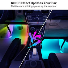 Load image into Gallery viewer, Rgbic Interior Car Led Lights, App Control, Music Mode