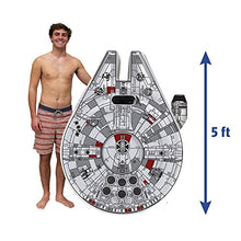 Load image into Gallery viewer, Star Wars Millenium Falcon Ride-On Float - Find unique gifts for Star Wars fans, new star wars games and Star wars LEGO sets, star wars collectibles, star wars gadgets and kitchen accessories at Gifteee Cool gifts, Unique Gifts for Star Wars fans