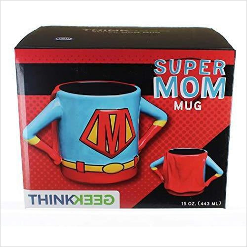 Superhero Mom Mug-Kitchen - www.Gifteee.com - Cool Gifts \ Unique Gifts - The Best Gifts for Men, Women and Kids of All Ages