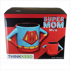Superhero Mom Mug - Find unique gifts for superhero fans, the avengers, DC, marvel fans all super villians and super heroes gift ideas, games collectibles and gadgets at Gifteee Cool gifts, Unique Gifts for comic book fans