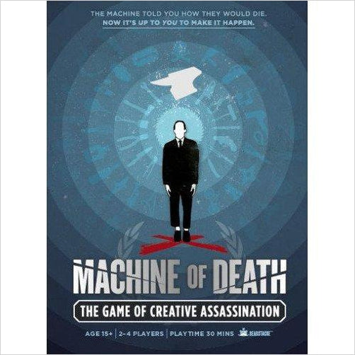 Machine of Death: Creative Assassination - Gifteee. Find cool & unique gifts for men, women and kids